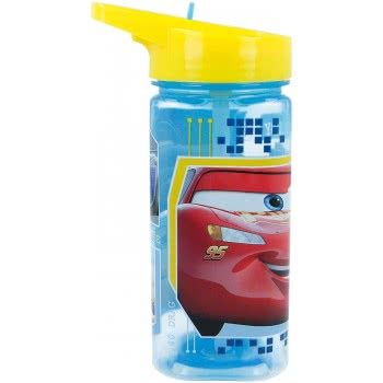 Stor Square Water Bottle Canteen 530 Ml - Cars B18714 8412497187140