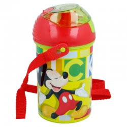 Stor Mickey Mouse Water Canteen Pop Up Flip 450 Ml B44269 8412497442690