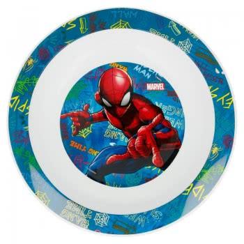 Stor Spiderman Deep Plate Blue B37948 8412497379484