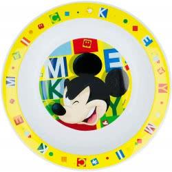 Stor Mickey Mouse Βαθύ Πιάτο - Κίτρινο B44248 8412497442485