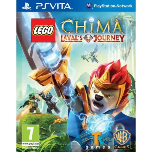 Warner Psv Lego Legends Of Chima Laval`S 5051892132244 5051892132244