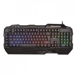 Zeroground Hanzo 2500G RGB - Keyboard Gaming Black V2.0