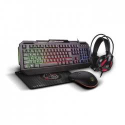 Zeroground 4 In 1 Sumiko 1900GUHMS - Gaming Keyboard, Mouse, Headphones And Mousepad