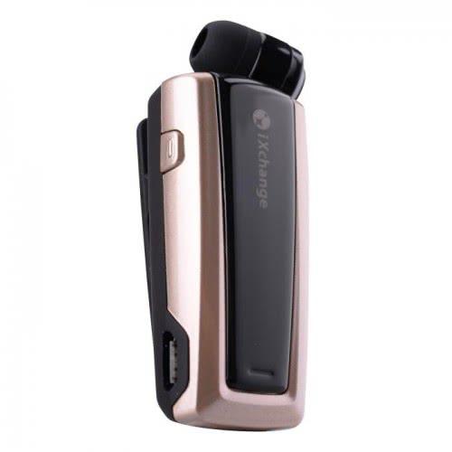 iXchange Retractable Bluetooth Mini Headset UA24ST Gold UA24ST 6970312530622