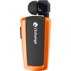 iXchange Retractable Bluetooth Mini Headset UA25XB Orange UA25XB 6970312530066