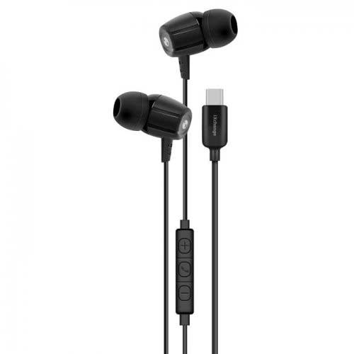 iXchange Stereo Earphone SE12 Type-C Black se12 6970312531063