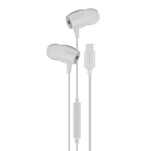 iXchange Stereo Earphone SE12 Type-C With Microphone White se12 6970312531070