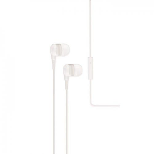 iXchange Stereo Earphone SE02 With Microphone White se02 6970312531032