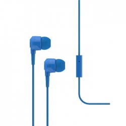 iXchange Stereo Earphone SE02 With Microphone Blue se02 6970312531049