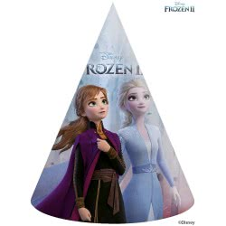 PROCOS Party Hats Disney Frozen 2 6 Pieces 091134 5201184911341