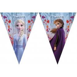 PROCOS Disney Frozen 2 Γιρλάντα Τρίγωνη Σημαίων Party 1 Τεμάχιο 091135 5201184911358