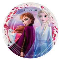 PROCOS Disney Frozen 2 Party Πιάτα Μεγάλα 6 Τεμάχια 091823 5201184918234