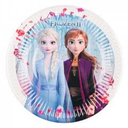 PROCOS Disney Frozen ΙΙ Party Χάρτινα Πιάτα Μικρά 19.5 Εκ - 6 Τεμάχια 091822 5201184918227