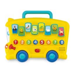 WinFun Λεωφορείο Με Ήχους Ζώων 403214 5204275032147