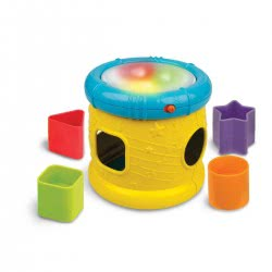 WinFun Sort N Fun Musical Drum 403235 5204275032352