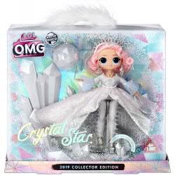 GIOCHI PREZIOSI L.O.L. Surprise Winter Disco - O.M.G Συλλεκτική Κούκλα Crystal Star LLU97000 8056379083092