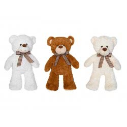 Christakopoulos Λούτρινο Αρκουδάκι 40 Εκ. - 3 Χρώματα 20709 5212007560509
