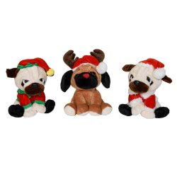 Christakopoulos Christmas Plush 20 Cm - 3 Designs 20713 5212007560448