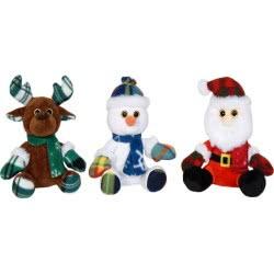 Christakopoulos Χριστουγεννιάτικα Λούτρινα 20 Εκ. - 3 Σχέδια 20715 5212007561469