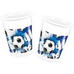 PROCOS Πλαστικά Ποτήρια KOKLIKO ΣΕΤ FOOTBALL 10τμχ 004805  5201184048054