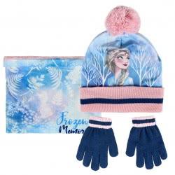 Cerda Σετ Σκούφος Κασκόλ Και Γάντια Disney Frozen II - Μπλε 2200004327 8427934291458