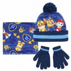 Cerda 3 Set Pieces Paw Patrol Scarf, Gloves And Hat 2200003193 8427934199716