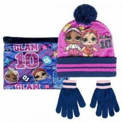 Cerda 3 Set Pieces L.O.L. Surprise Scarf, Gloves And Hat 2200004412 8427934294909