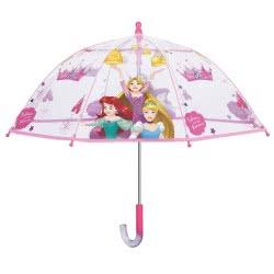 Cerda Disney Princess Ομπρέλα Μπαστούνι Διάφανη 42 Εκ. 50429 8015831504292