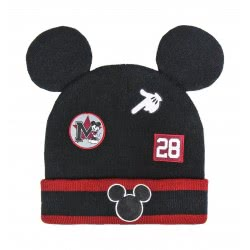 Cerda Hat With Applications Mickey Mouse - Black 2200004891 8427934290260
