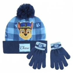 Cerda 2 Set Pieces Gloves And Hat Paw Patrol - Blue 2200003211 8427934199891