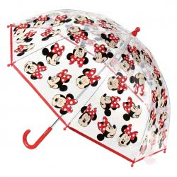 Cerda Minnie Mouse Ομπρέλα Παιδική Διάφανη 45 Εκ.  2400000512 8427934295340