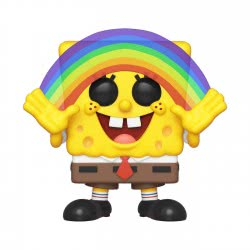 Funko Pop! Animation Spongebob Squarepants - Spongebob Squarepants With Rainbow Ν. 558 39552 889698395526