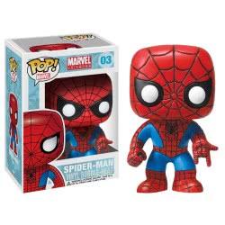 Funko POP! Marvel Universe Heroes - Spiderman Bobble Head Φιγούρα Βινυλίου Ν. 03 2276 830395022765