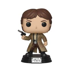 Funko Pop! Movies Star Wars - Χαν Σόλο (Endor) Bobble Head Φιγούρα Βινυλίου N. 286 37534 889698375344