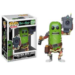 Funko Pop! Animation Rick And Morty - Pickle Rick Wounded Vinyl Figure Ν. 332 27862 889698278621