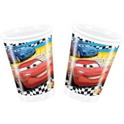 PROCOS Πλαστικά Ποτήρια DISNEY CARS RSN 8τεμ 081559  5201184815595