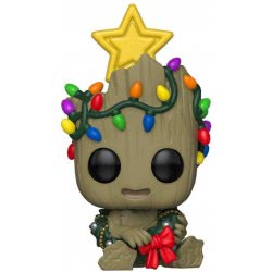 Funko POP! Movies Marvel - Groot Holiday Φιγούρα Βινυλίου Ν. 530 43333 889698433334