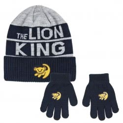 Cerda 2 Set Pieces Lion King Winter Hat And Gloves 2200004324 8427934291397