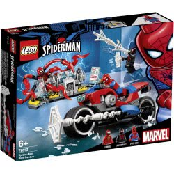 LEGO Marvel Super Heroes Spider-Man Bike Rescue 76113 5702016368666