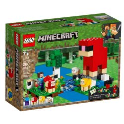 LEGO Minecraft The Wool Farm 21153 5702016370911