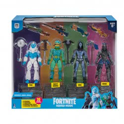 Jazwares Fortnite Squad Mode Four Action Figures 10 Cm FRT46000 8056379088417
