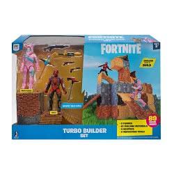 Jazwares Fortnite Turbo Builder Set With Figures Rabbit Raider Και Vertex FRT54000 8056379088493