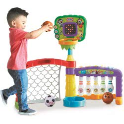 little tikes 3-In-1 Sports Zone LTF06000 8056379080886
