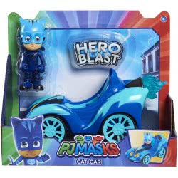 GIOCHI PREZIOSI PJ Masks Hero Blast With Figure - 3 Designs PJMA1000 8056379078005