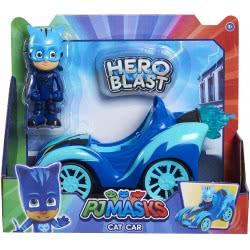 GIOCHI PREZIOSI PJ Masks Hero Blast With Figure - 3 Designs PJMA1000 8056379078005