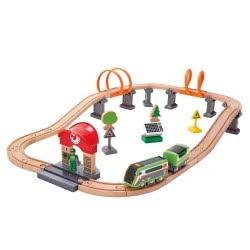 Hape Railway Solar Power Circuit Train Set E3762A 6943478021655