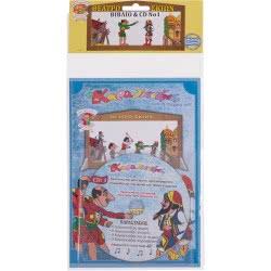 AK TOYS Καραγκιόζης Βιβλίο Με CD No 1 170 5203249001707