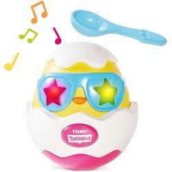 TOMY Toomies Beat It - Βρεφικό Παιχνίδι Μουσικό Αυγό 1000-72816 5011666728165