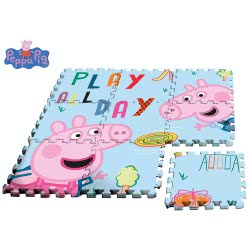 HOLLYTOON Peppa Pig Floor Puzzle 9 Pieces