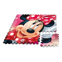 HOLLYTOON Minnie Mouse Παζλ Δαπέδου 9Τμχ KL017629 8435333865149